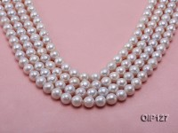 Wholesale & Retail 11-11.5mm White rregular Pearl String