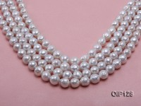 Wholesale & Retail 10-12mm White rregular Pearl String