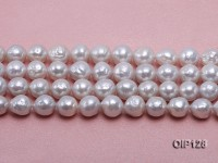 Wholesale & Retail 10-12mm White rregular Pearl String