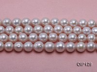 12-14mm White Edison Pearl String