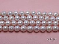 12-14mm White Edison Pearl String