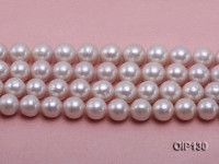 11.5-14.5mm White Edison Pearl String