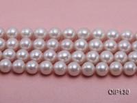11.5-14.5mm White Edison Pearl String