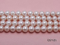 12.5-15mm White Edison Pearl String