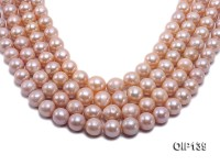 12.5-16mm Pink Edison Pearl String