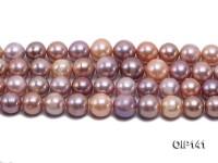 12-15.5mm Multi-color Edison Pearl String
