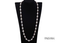 11.5-13.5mm Classy White Edison Pearl Long Necklace