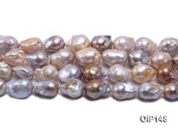 12-16mm Grey Lavender Irregular Pearl String