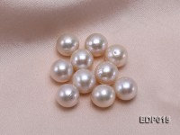 12-12.5mm White Round Loose Edison Pearl