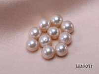 12.5-13mm White Round Loose Edison Pearl