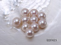 13.5-14mm White Round Loose Edison Pearl