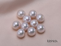 14-14.5mm White Round Loose Edison Pearl