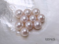 15-16mm White Round Loose Edison Pearl
