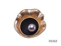 12mm Lavender Round Freshwater Pearl Brooch