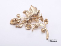9mm White Freshwater Pearl Brooch