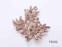 4-7mm White Freshwater Pearl Brooch