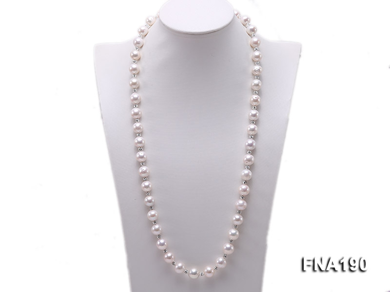 12-13mm White Edison Pearl Necklace