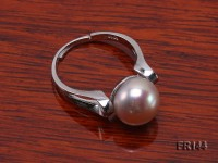 9.5mm Lavender Freshwater Pearl Ring in Sterling Silver Ring