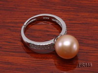 10.5mm Pink Freshwater Pearl Ring