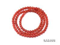 6.5-7mm Natural Nanhong Agate Bracelet