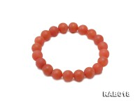 10mm High-grade Natural Nanhong Agate Bracelet