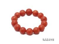 15-17mm Huge High-grade Natural Nanhong Agate Bracelet