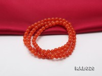 6.5-7mm Natural Nanhong Agate Bracelet