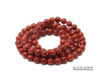 11-11.5mm High Quality Natural Nanhong Agate Bracelet