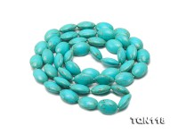 12.5×17.5-13×18.5mm Blue Simulated Turquoise Necklace