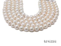 Wholesale 14-16mm Super Big White Round Edison Pearl String
