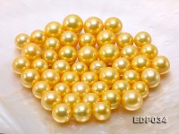 11.5-15.5mm Golden Loose Edison Pearls