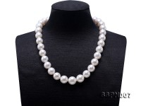 Charming 12-14mm White South Sea Pearl Necklace