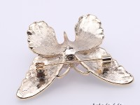 11.5mm High Quality Butterfly Freshwater Pearl Brooch