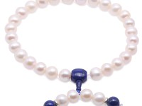 Buddhism Jewelry—Huge Size 13-15mm White Round Pearl Prayer Beads
